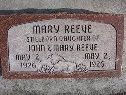 Mary Reeve