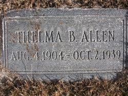 Thelma <I>Blake</I> Allen