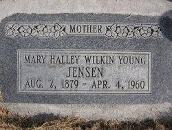 Mary Halley <I>Wilkin</I> Jensen
