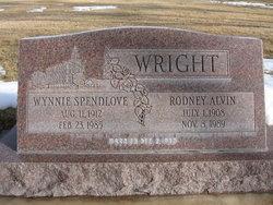 Wynnie Rose <I>Spendlove</I> Wright