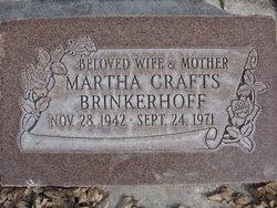 Martha <I>Crafts</I> Brinkerhoff