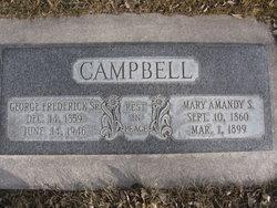 Mary Amanda <I>Sanders</I> Campbell