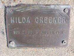 Hilda Greener