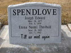 Joseph Edward Spendlove