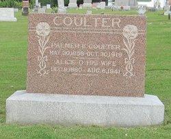 Alice O. <I>Holmes</I> Coulter