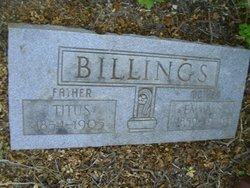 Emma <I>Sandersen</I> Billings