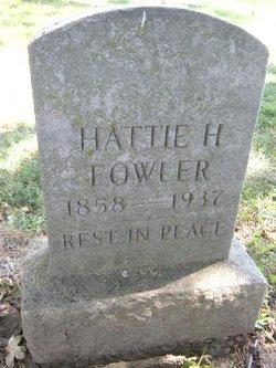 """Henrietta """"Hattie"""" <I>Brill</I> Fowler"""