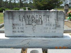 Minnie H. <I>Hayes</I> Lamberth