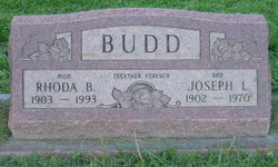 Rhoda Maybelle <I>Williams</I> Budd