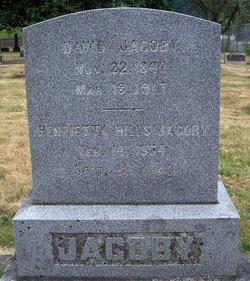 "Henrietta Celestia ""Hattie"" <I>Hills</I> Jacoby"
