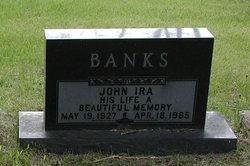 """John Ira """"Jack"""" Banks"""