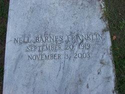 Nell <I>Barnes</I> Franklin