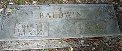 "Elizabeth Jane ""Betsy"" <I>Bristol</I> Baldwin"