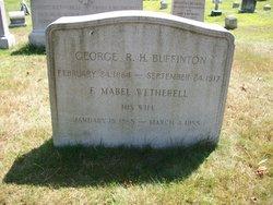 Fannie Mabel <I>Wetherell</I> Buffinton