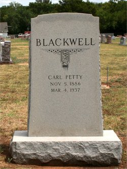 Carl Petty Blackwell, Sr