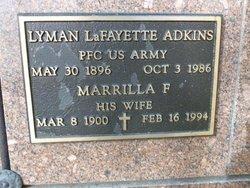 Lyman L Adkins