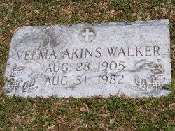 Velma <I>Akins</I> Walker