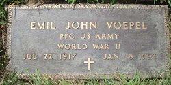 PFC Emil John Voepel