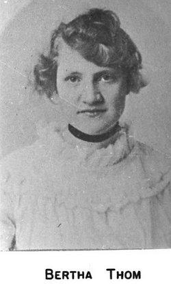 Bertha Thom