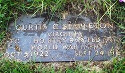 """Curtis Carson """"Curt"""" Stapleton"""