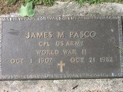 James M Pasco
