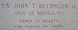 John T. Bettinger, Jr