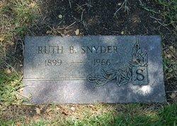 Ruth B Snyder