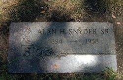 Alan H Snyder, Sr
