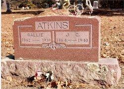 "Sarah Abigail ""Sally"" <I>Harris</I> Atkins"