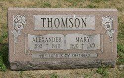 """Alexander """"Alex"""" Thomson"""