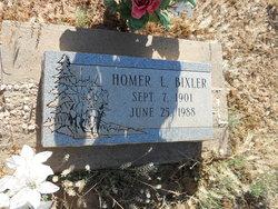 Homer Leonard Bixler