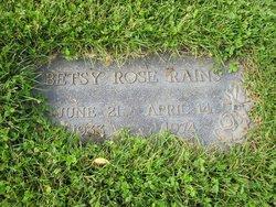 Betsy Rose <I>Smith</I> Rains