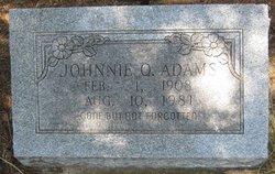 Johnnie Q Adams