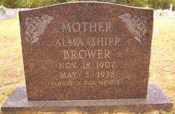 Alma <I>Shipp</I> Brower