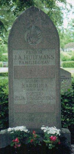 """Carolina (Karolina) """"Lena"""" <I>Palmer</I> Hultman"""