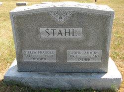 """Stella Frances """"Frankie"""" <I>Barber</I> Stahl"""
