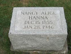 Nancy Alice <I>Spaw</I> Hanna