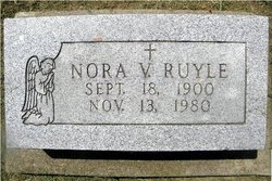 Nora Virginia <I>Row</I> Allen Ruyle