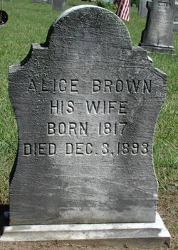 Alice <I>McMahon</I> Brown