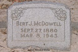 Bert James McDowell