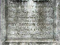 Maj Henry Henley Chapman