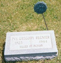 """PVT Gregory """"Greg"""" Regnier"""
