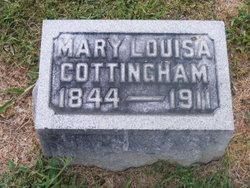 Mary Louisa <I>Langdale</I> Cottingham
