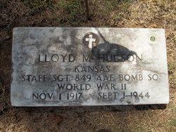 SSGT Lloyd M Hudson