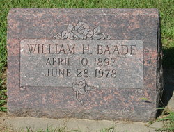 William H Baade