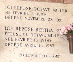 Bertha <I>Ricard</I> Miller