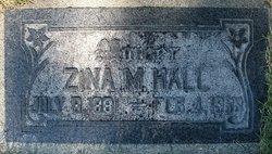 Zina Minerva <I>Briggs</I> Hall