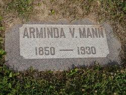 Arminda Victoria <I>McGrew</I> Mann