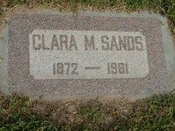 Clara <I>Mann</I> Sands