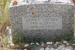 John F. Cheney